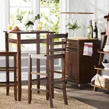 3 Piece Dining Set Furniture Add Flexibility To Your Dining Options Using Pub Table