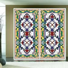 refurbished window retro glass window church stained glass decoration sliding door wardrobe doors refurbished
