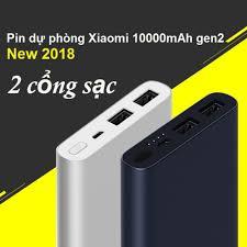 Sạc Dự Phòng Xiaomi Gen 2, 2 Cổng USb Chuẩn 10000mAh, Bảo Hành 12 Tháng Lỗi  1 Đổi 1 Do Nhà Sản Xuất giá cạnh tranh