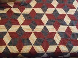 Hexagon Star/Tumbling Blocks Variation Pattern | Tim Latimer ... & This ... Adamdwight.com