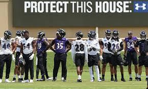 Baltimore Ravens Depth Chart Ravens Release First Official Depth Chart
