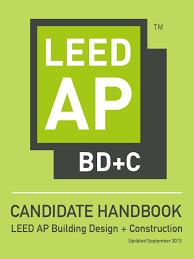 Leed Ap Bd C Candidate Handbook 0 Leadership In Energy And