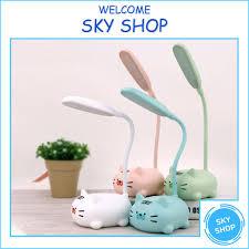 Đèn Để Bàn Học Mini Hình Thú Đáng Yêu - Đèn Ngủ / LED Trang Trí / Cute Ngộ  nghĩnh - Đèn bàn Nhãn hàng No brand