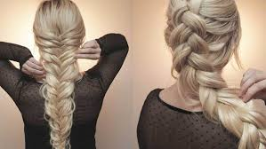 How To Do A French Braid Hair Tutorials For Beginners Luxy Hair