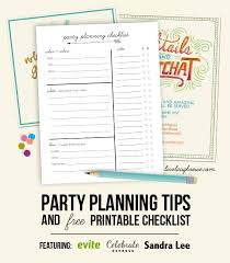 Party Planning Tips & Printable Checklist - Live Laugh Rowe