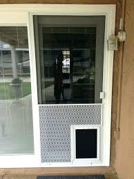 doggy door sliding screen door medium size