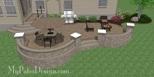 Small Picture Fabulous Seating Wall Ideas for Your Patio MyPatioDesigncom