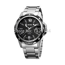 popular platinum mens watch buy cheap platinum mens watch lots luxury fancy casual business man watch stainless steel back waterproof mainland