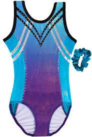 New Premier Gymnastics Sleeveless Leotard By Snowflake