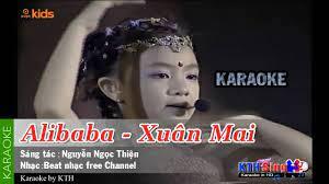 Alibaba - Xuân Mai [KARAOKE] | Beat nhạc free (phối chuẩn) - Nhạc thiếu nhi  mới nhất. - #1 Xem lời bài hát