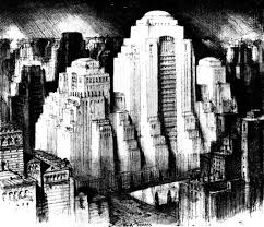 Architectural drawings of famous buildings Structure Another One Of Hugh Ferriss Famous Architectural Drawings Titled The Architectural Drawings Of Hugh Ferriss Paul Housberg