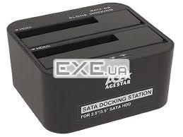 <b>Док-станция AgeStar 3UBT6-6G</b> (<b>Black</b>) — заказать, купить, цена ...