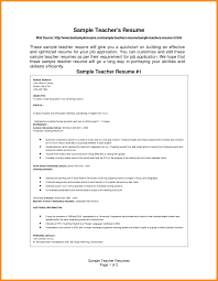 6 Download Resume Format For Teaching Odr2017