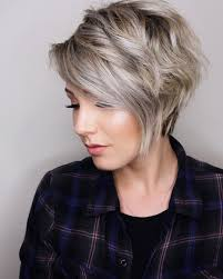 Photo Gallery Of Layered Tapered Pixie Hairstyles For Thick Hair