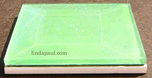 4x4 glass tile side view green inch tiles 4x4 glass tile aura inch metallic mosaic clear craft