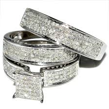 Cheap Wedding Ring Sets For Him And Her Trulagreen Com