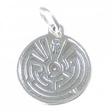 maze sterling silver charm 925 x