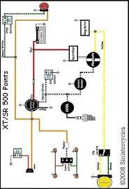 yamaha sr xt tt simple wiring diagrams flickr Yamaha Tt 500 Wiring Diagram Basic Yamaha Tt 500 Wiring Diagram Basic #19 1980 Yamaha TT