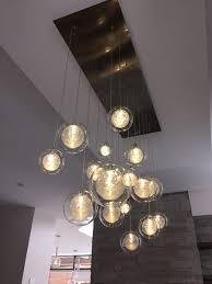 exotic lighting handblown chandelier