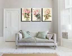 Small Picture triptych Cheap modern canvas prints rose drawing picture large