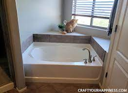beautiful removable bathtub cover