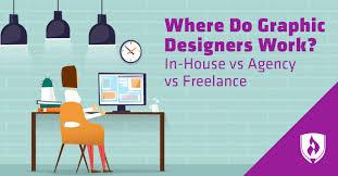 House Work Design Where Do Graphic Designers Work In House Vs Agency Vs