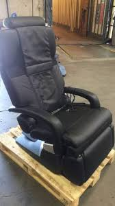 black leather massage chair. human touch massage chair ht-7450 zero gravity black leather moseptember3-39-59pm