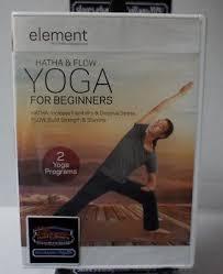 element hatha flow yoga for beginners dvd new