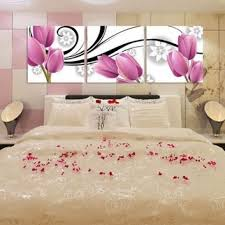 Small Picture Free Shipping3 piece canvas art sets beautiful decorative flowers