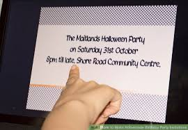 How To Create A Party Invitation 3 Ways To Make Homemade Birthday Party Invitations Wikihow