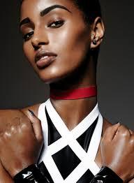 senait gidey superhero makeup editorial for elle canada may 2016