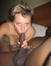 Black dicks and white mature