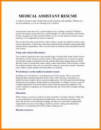 Medical Assistant Resume Objective Examples For Field