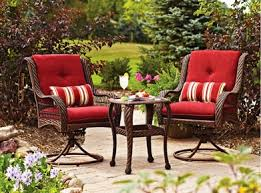 better homes and gardens outdoor cushions. Better Homes And Gardens Lake Merritt 3-Piece Bistro Set Replacement Cushions Outdoor Walmart