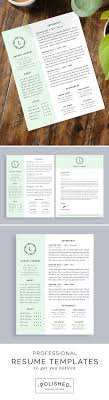 2 Page Resume Template Word Professional resume templates for Microsoft Word Features 100 and 100 55