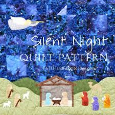 Nativity Quilt Pattern - Silent Night, A Christmas Quilt ... & Nativity Quilt Pattern - Silent Night, A Christmas Quilt Adamdwight.com