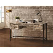 Rustic style furniture Elegant Writing Desk Ecommercewebco Coaster 801235 Rustic Style Writing Desk With Drawers Dunk