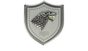 Game Of Thrones Stark House Crest Wooden Plaque Game of Thrones Stark House Crest Wooden Plaque Amazonin Toys 49
