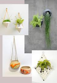 Modern, Boho, Shabby Chic and Contemporary hanging planters
