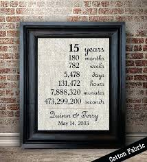 15th aniversary gift image 0 anniversary ideas for husband