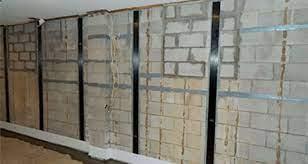 basement foundation wall brace systems