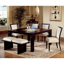 master dining room sets with bench white dining room table with bench and chairs 6494