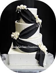 elegant black and white wedding elegant black and white wedding cake grace tari flickr