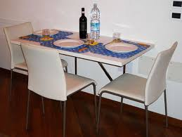 Amusing Folding Wall Tables Kitchens Foxy Kitchen Table And Small Spaces  Graceful Engaging Mounted Dining Magnificent