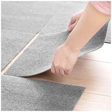 diy rug splicing joint mat lehom modern area rugs 8 pieces thin door mats indoor for living room kitchen could be home office large area rugs 4 brown 4