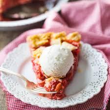 strawberry rhubarb pie old fashioned