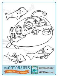 Small Picture lots of octonauts printables make a coloring book Octonauts