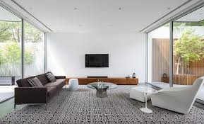 minimalist living room design living room modern with black and white rug contemporary area rugs
