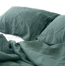 dark green duvet cover emerald natural linen bedding set dark green duvet by dark green velvet duvet cover