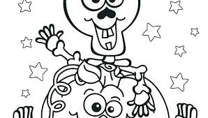 Scary Coloring Pages For Halloween Scary Coloring Pages Spooky